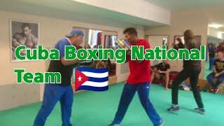 Cuba Boxing National Team 🇨🇺 training  in Kutil gym Prague, Czech Republic.