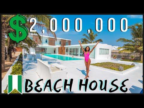 INSIDE THE MOST LUXURIOUS BEACH HOUSE IN LAGOS, NIGERIA | SENCILLO LAGOS