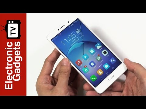 5.5 Inch Huawei Honor 6x Android Phone Review