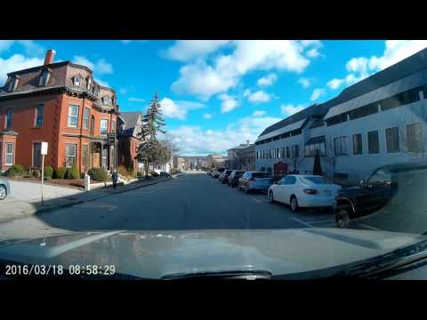 1080p Driving around Worcester Ma. Early spring 2016 Video 1
