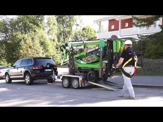 Leguan Lifts in action: L135 TRD home renovation (2015)