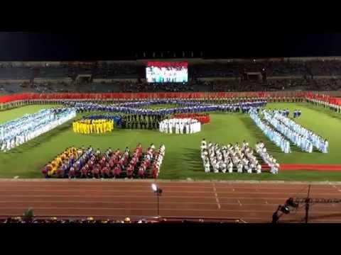 Đại hội Thể dục Thể Thao Tỉnh Tây Ninh 27/03/2014- Clip HD