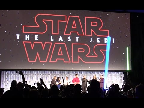 "Thumbnail: FAN REACTION: ""The Last Jedi"" trailer debuts at Star Wars Celebration 2017 in Orlando"