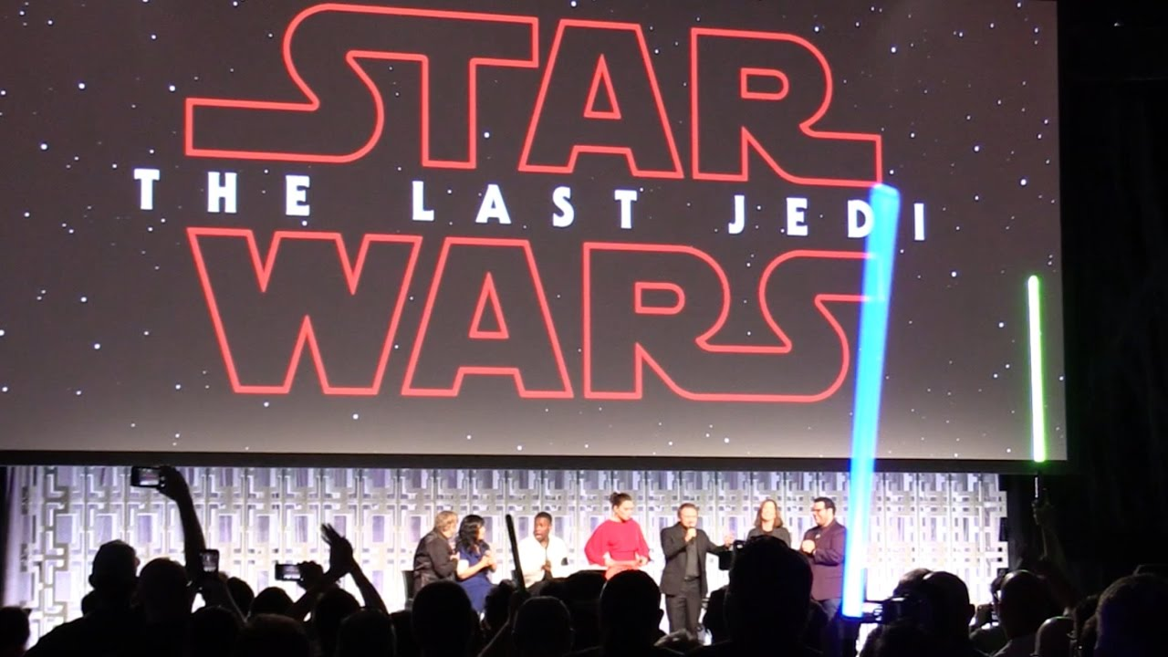 "FAN REACTION: ""The Last Jedi"" trailer debuts at Star Wars Celebration 2017 in Orlando – YouTube"