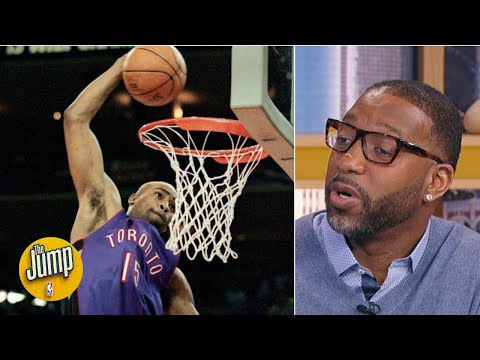 'I can't compete with that!' Tracy McGrady explains why he sat out the 2000 Dunk Contest | The Jump