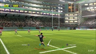 Rugby 20 - Gloucester Rugby vs Munster Rugby - Gameplay (PS4 HD) [1080p60FPS]