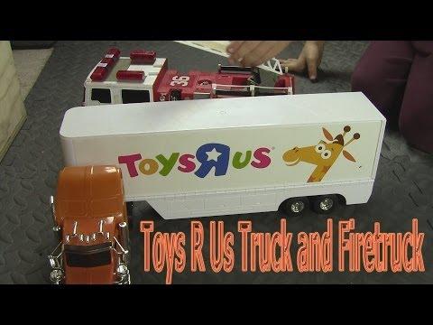 Garbage Truck Video ToysRUs Truck Firetruck