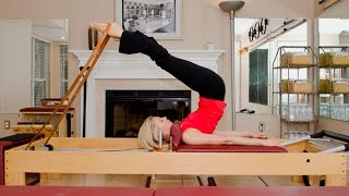Pilates Reformer: Short Spine (Beginning, Advanced, & Straddle Variations)