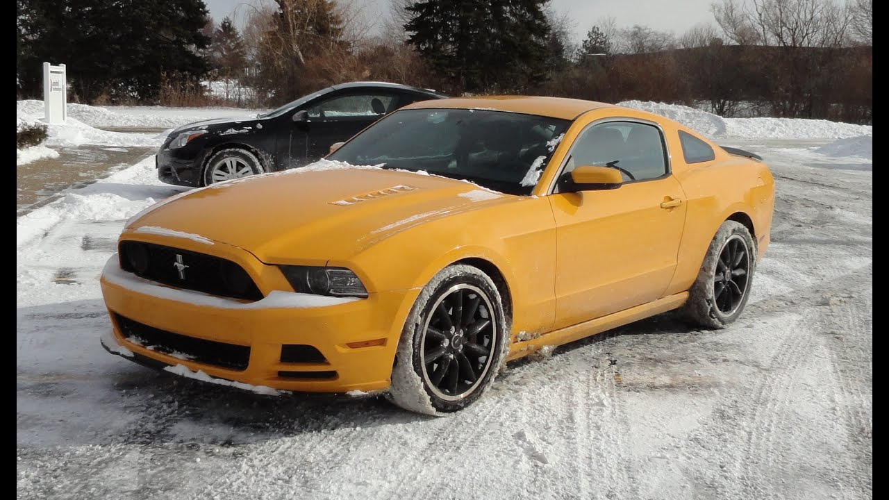 Find My Car Houston >> 2013 Ford Mustang Boss 302 in School Bus Yellow & Driven Daily in IL My Car Story with Lou ...