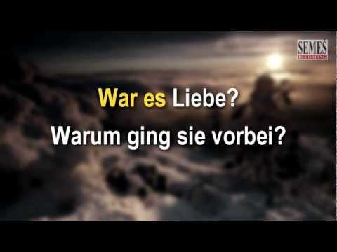 War es Liebe (Karaoke)