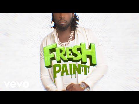 Смотреть клип Mavado - Fresh Paint