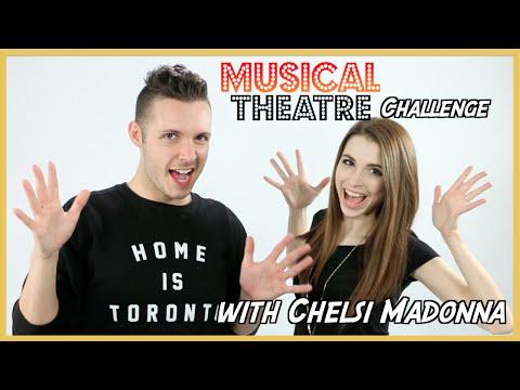 Musical Theatre Challenge w/ Chelsi Madonna   Michael Reynes