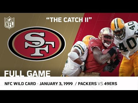 """""""The Catch II"""" Packers vs. 49ers 1998 NFC Wild Card Playoffs 
