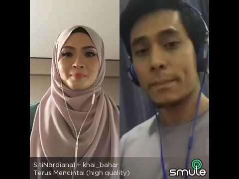 Siti Nordiana ft Khai Bahar - Terus Mencintai