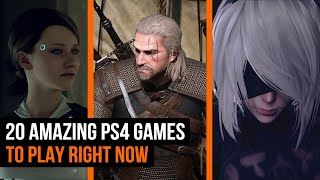 20 Amazing PS4 Games to play right now