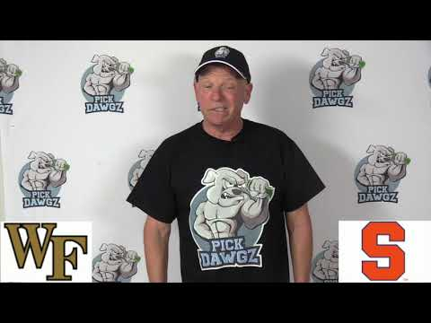 Syracuse vs Wake Forest 11/30/19 Free College Football Pick and Prediction Week 14 CFB Tips