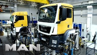 Video MAN truck production - Munich download MP3, 3GP, MP4, WEBM, AVI, FLV Juli 2018