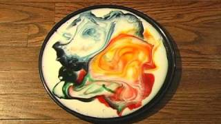Milk and Food Coloring Experiment - Magic Soap Science Experiment!