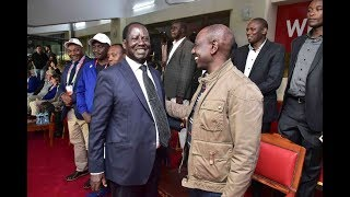Raila CONFESSES Who He will Support for 2022 PRESIDENCY.