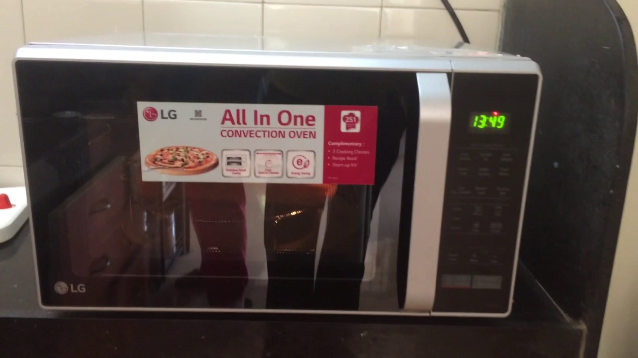 Lg 28 Ltrs Mc2846sl Convection Microwave Oven Silver