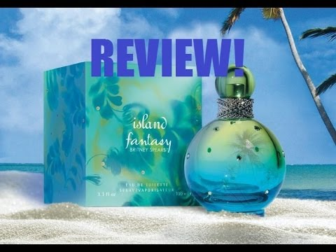 Island Fantasy By Britney Spears Perfume Review!