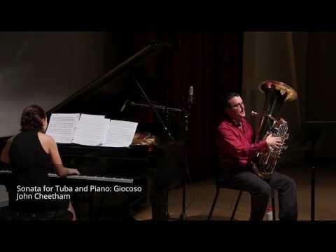 Sonata for Tuba and Piano, by John Cheetham
