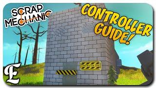 Scrap Mechanic ➤ HOW TO Make A Transforming House & Doors [Basic Controller Guide/Tutorial]