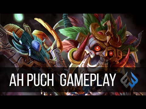 Ah Puch ADC: THE CLEAR ON THIS GOD IS WILD! - Smite