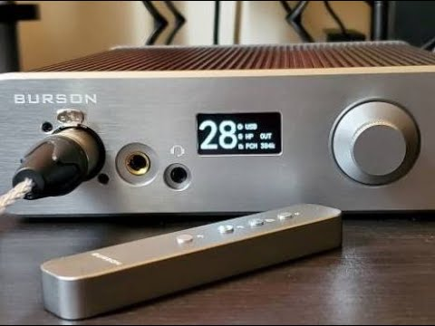Burson Audio Conductor 3X Performance  - review - Sounds as sexy as it looks!