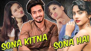 Sona Kitna Sona Hai Tik Tok new version | Tu Mera Hero No 1 | Govinda | Mr Faisu | Karishma Kapoor