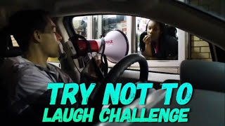 Try Not To Laugh Challenge *Drive Thru Edition*