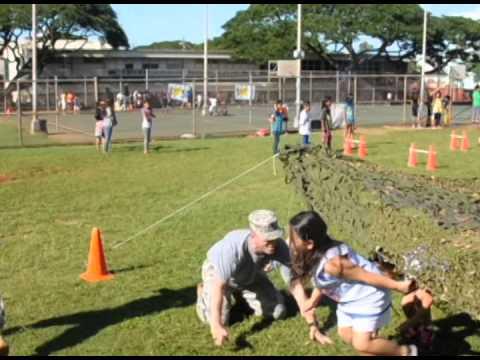 Fern Elementary School Jump Rope 4 Heart Field Day 12 FEB 2014