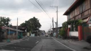 Driving through Mendez, Cavite, Philippines