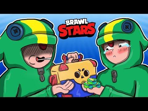 LEON OTWIERAJĄCY SKRZYNIE W BRAWLSTARS !  - BRAWL STARS PL /GILATHISS