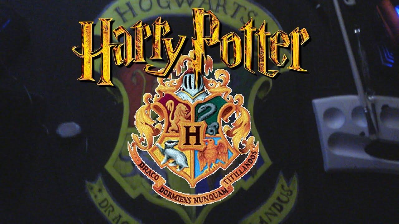 Speedart Drawing Hogwarts Wappen Harry Potter Fire Ghost World