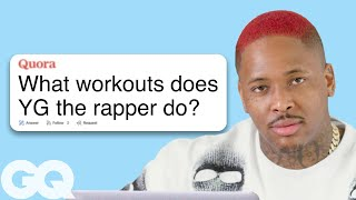 YG Goes Undercover on YouTube, Twitter and Wikipedia | GQ