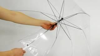 투명무지흰색비닐우산