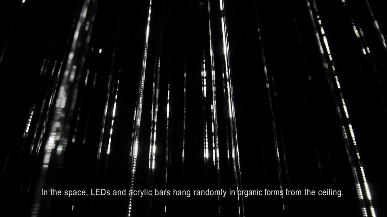 Uncategorized Rain Lighting white rain interactive lighting installation youtube