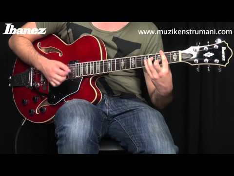 Ibanez AFS75T TRD Elektro Gitar