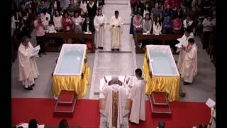 善導之母堂聖週六洗禮