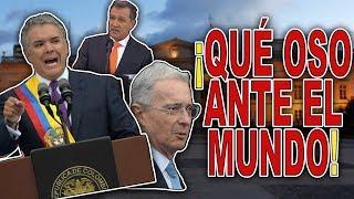LAS PEORES EMBARRADAS DE LA POSESIÓN DE IVÁN DUQUE