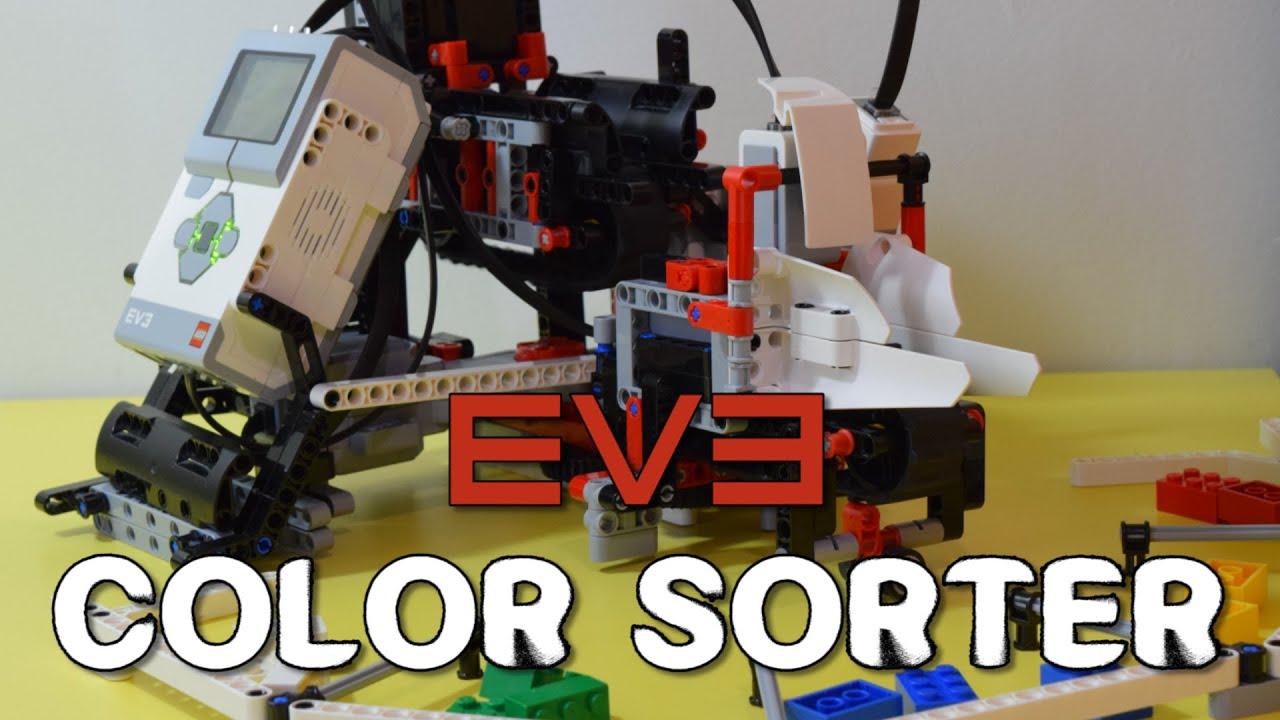 Lego EV3 - Color Sorter - YouTube