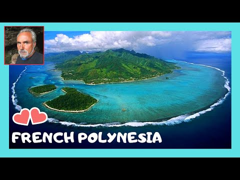 MO'OREA in French Polynesia, BBQ and lots of fun on a coral reef (Pacific Ocean)