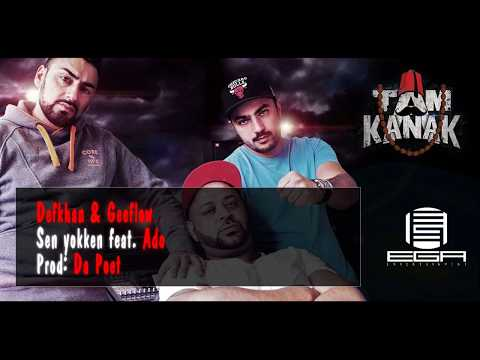 Defkhan & Geeflow - Sen yokken feat. Ado (Lyrik Video)