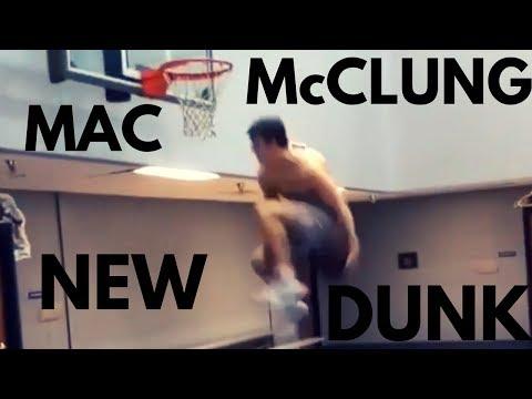 MAC McCLUNG UNDER BOTH LEGS DUNK!!!