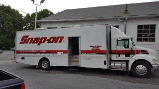 Biggest snap-on tool truck on the east coast!