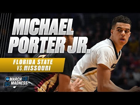 Florida State vs. Missouri: Michael Porter posted a double-double in his NCAA Tournament debut