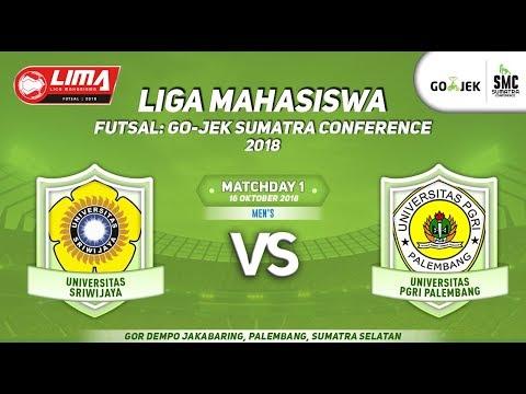UNSRI VS UPGRIP LIMA Futsal : GOJEK SUMATRA CONFERENCE 2018
