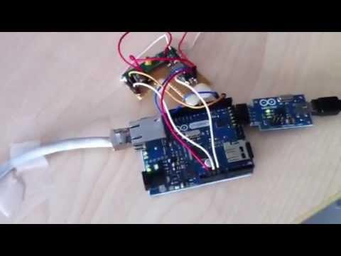 arduino haussteuerung codeschloss lampe thermometer. Black Bedroom Furniture Sets. Home Design Ideas