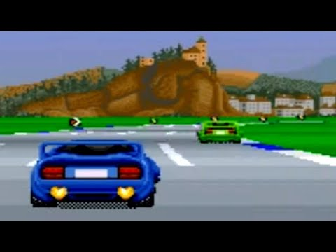 Top Gear 2 (SNES) Playthrough - NintendoComplete